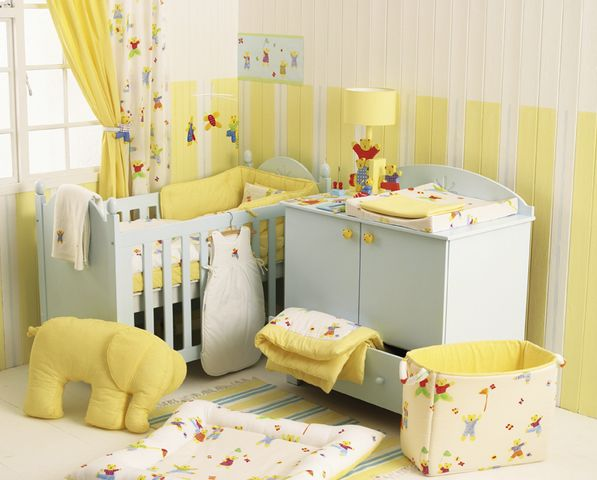 Yellow Baby Room