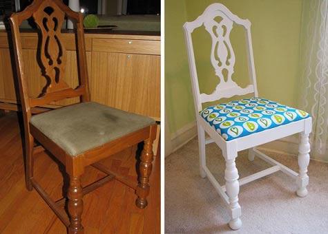 Реконструкция старого стула своими руками фото6