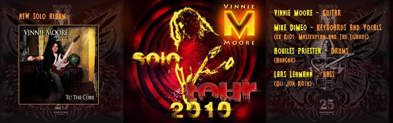 Vinnie Moore Tour 2010