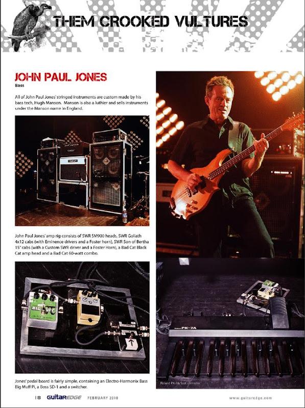John Paul Jones Bass Rig