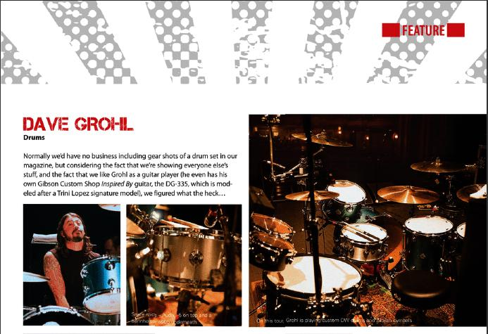 Dave Grohl Gear