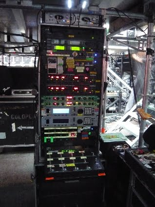 Coldplay Guitar Rig