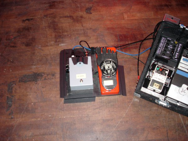 Jeff Beck's Pedalboard