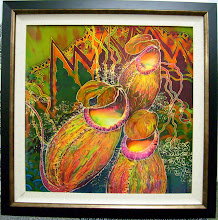 lukisan batik sutera 36''x36''