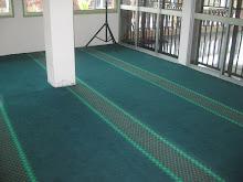 masjid triang .pasang dan cuci