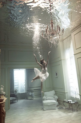 girls trapped underwater
