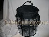 <b>MAKEUP</b> <b>BUCKET</b> / <b>Tas</b> <b>Makeup</b> Silinder (Kode : MB) Rp. 50.000,-