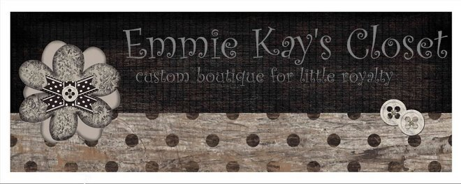 Emmie Kay's Closet ~ custom boutique for little royalty