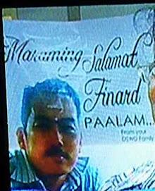 Maraming Salamat at Paalam, Finardo G. Cabilao