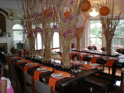 pleasure of assisting with the planning of an Asianthemed bridal shower