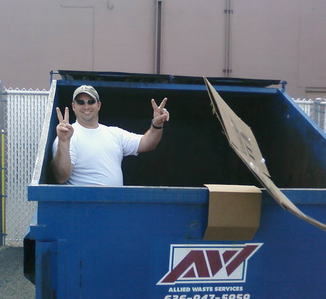 Dad is a dumpster diver