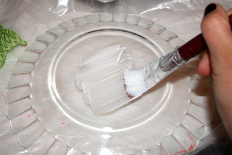 Тарелка своими руками фото
