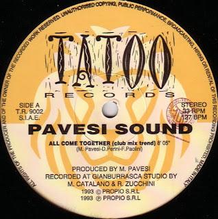 Pavesi Sound - All Come Together