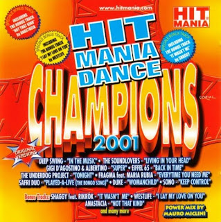 Various - Hit Mania Dance Champions 2001