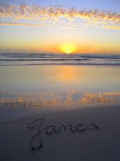 Angel James' Setting Sun