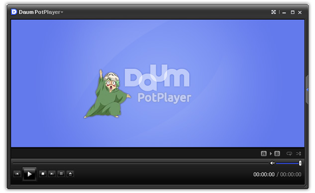Daum PotPlayer default skin