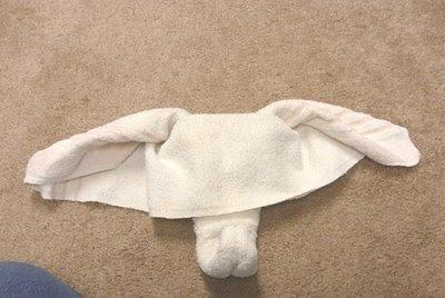 Cara Membuat Boneka Gajah Dari Handuk