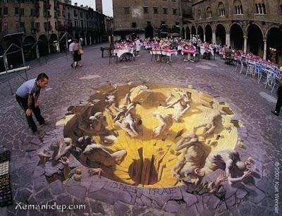 lukisan lukisan 3D yang keren! Street_illusion01
