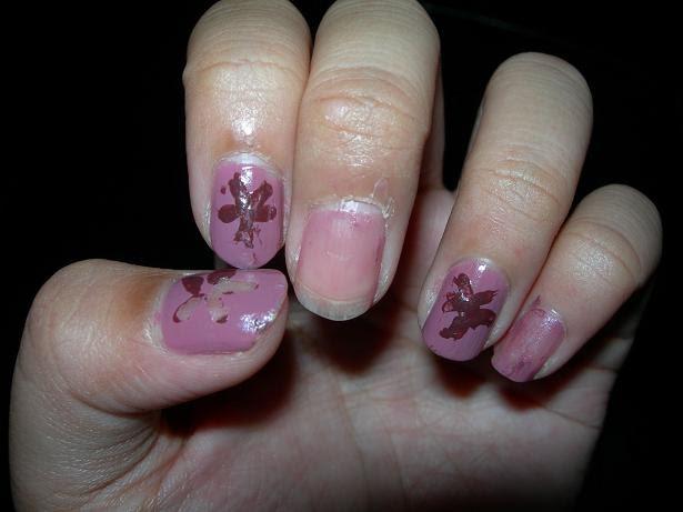 peeps. ugly nails