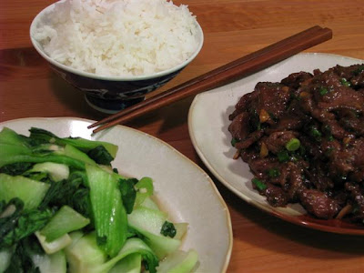 Mongolian  Beef - Joy of Food