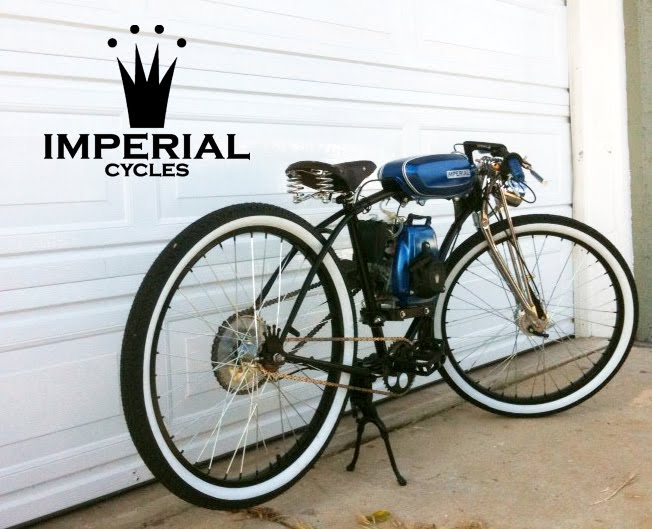 Imperial Cycles New Bike For Local San Jose Customer