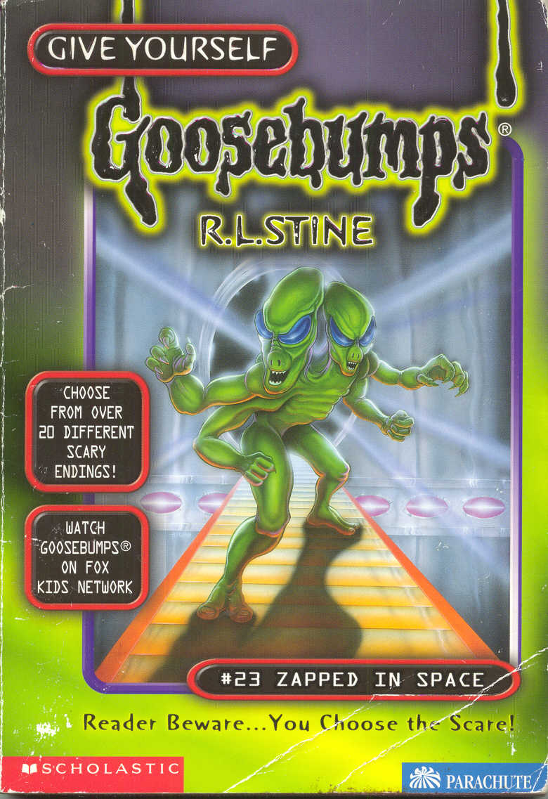 Goosebumps World Zapped In Space
