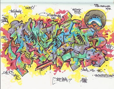 Graffiti Blackbook Sketches: Graffiti Blackbook - How To Draw Graffiti