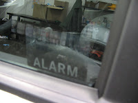 smart alarm sticker