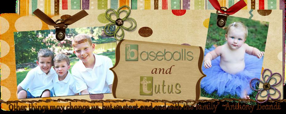 Baseballs and Tutus