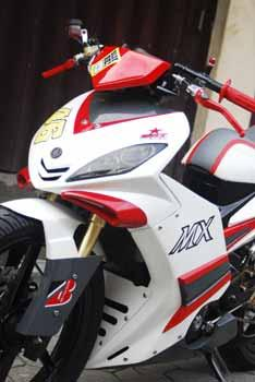 Modifikasi Motor Jupiter MX 135LC