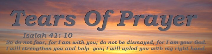 Tears Of Prayer