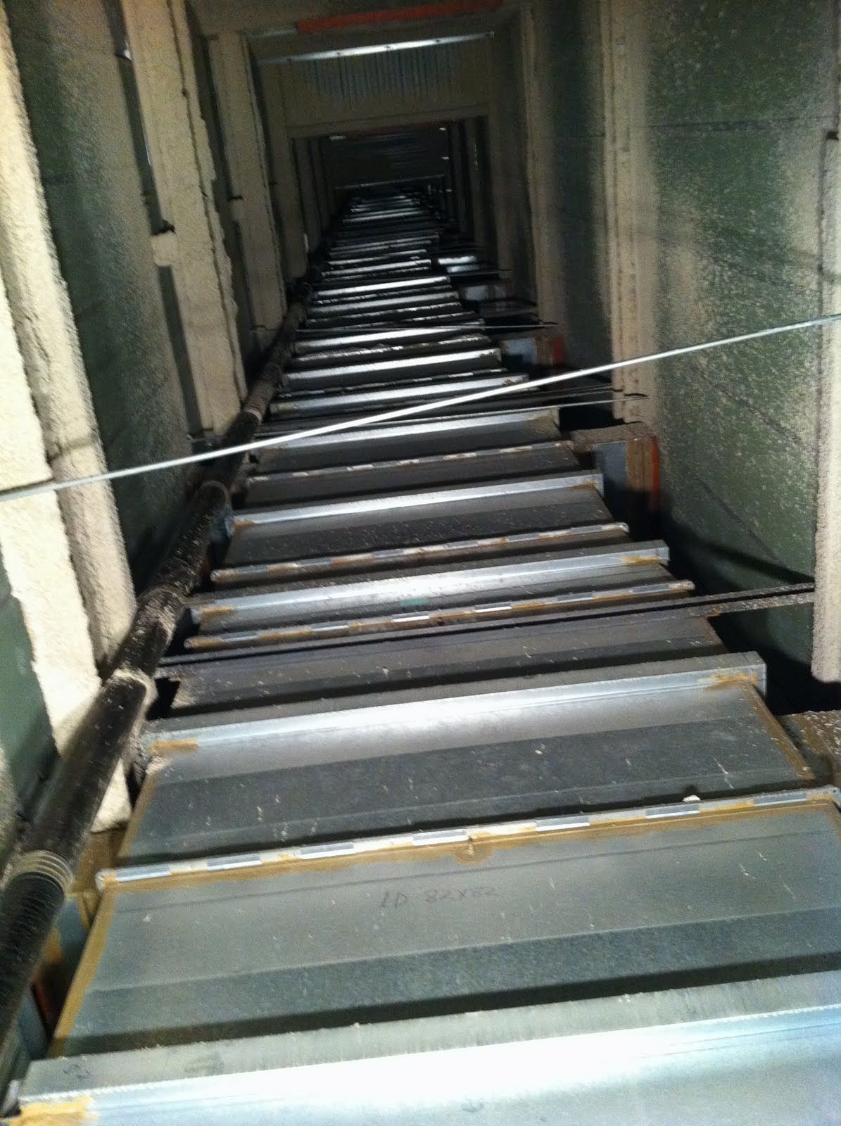 Base Group High Angle Vertical Chase Duct Sealing