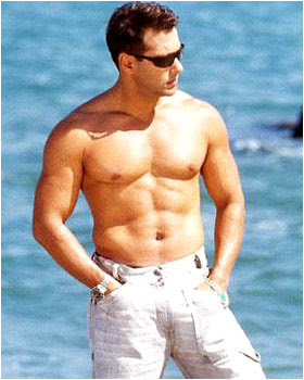 Hot man Salman Khan body pictures