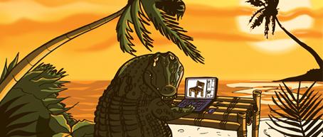 Lágrimas de cocodrilo en la red