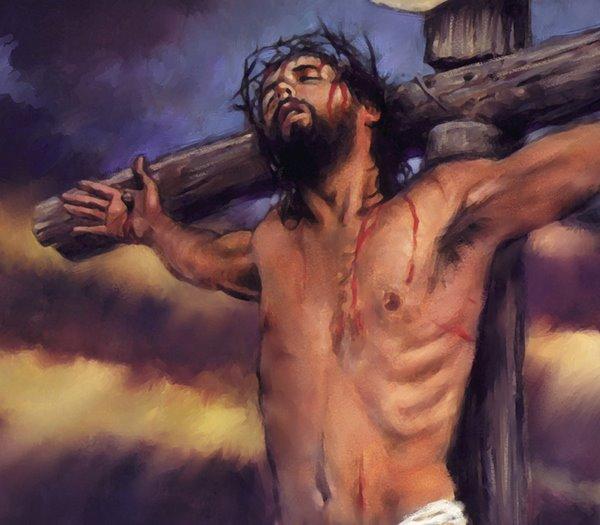 Evangelio 22 de Abril de 2011.-Viernes Santo Jesus_on_cross_crucifixion-full