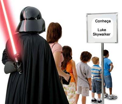Darth Vader luke sabre de luz