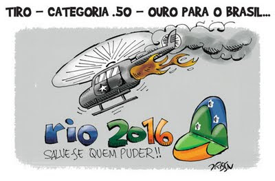Helicoptero Rio de Janeiro Olimpico