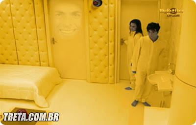 dourado quarto do pânico BBB