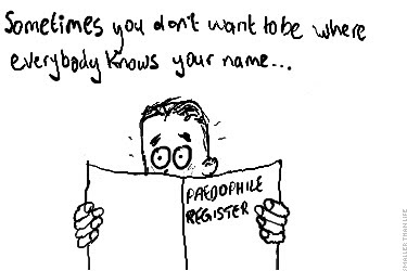 Sometimes you don't want to be where everybody knows your name...