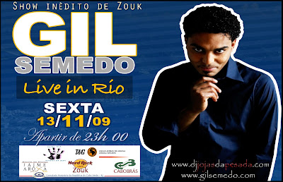 Gil Semedo Live in Rio, visit http://www.zouklambada.com/events.asp for the latest parties, events, news, latest radio stations and more