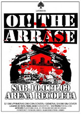 Oi! The Arrase en Chile
