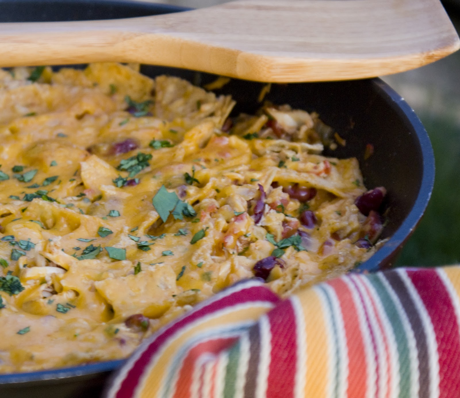 tortilla skillet bake