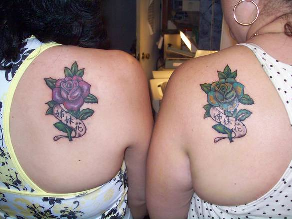 small rose tattoos. pink rose tattoos designs.