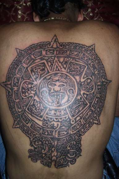 mexican eagle tattoo designs. eagle chest piece tattoo cross tattoo for