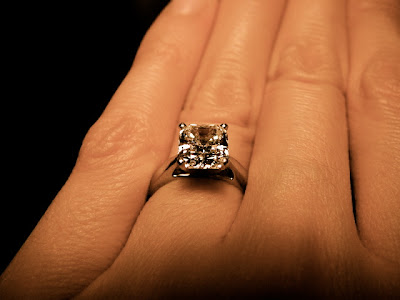 Radiant Solitaire Engagement Ring