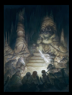 justin gerard illustration the hobbit
