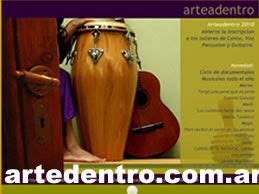 Pagina Oficial de Arteadentro: