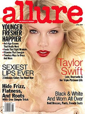 Are you a Taylor Swift Fan? Well, she's the cover of Allure magazine for