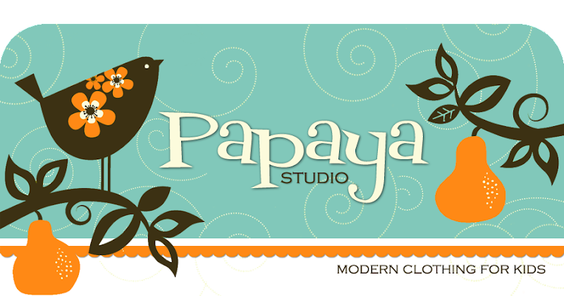 Papaya Studio Blog Design