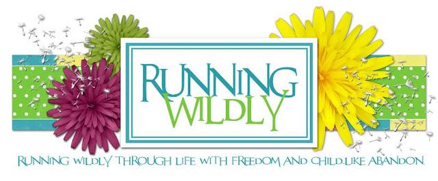 Running Wildly Blog Design